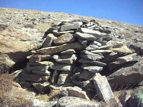 """Rock igloo on Square Top Mountain A in Colorado's """"Front Range"""""""