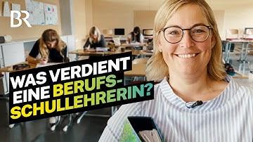 Was verdient eine verbeamtete Lehrerin an der Berufsschule in Bayern | Lohnt sich das? | BR