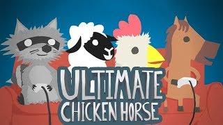 Cziken Horsys  Przypadkowe #172: Ultimate Chicken Horse w/ GuGa GamerSpace Tomek90