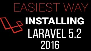 Installing Laravel 5.2 on windows with WAMP using Composer 2016 - Easiest way!