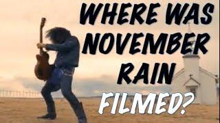 Guns N' Roses: Where Was November Rain Filmed?
