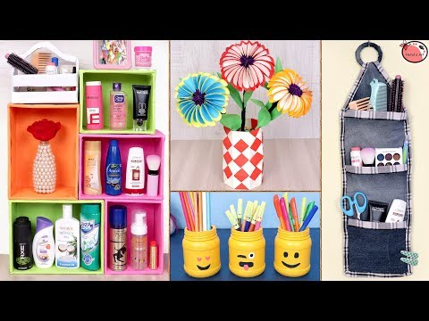 Easy ... Usefull !!! 5 DIY Room Decor & Organization Idea 2019 || DIY Projects