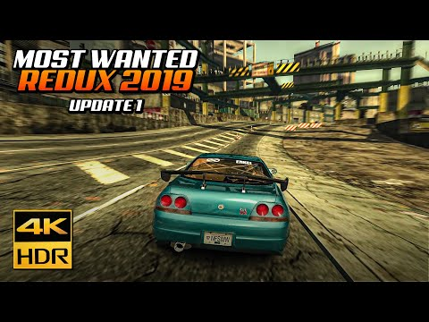 NFS Most Wanted REDUX | Update #1: New Cars, Xbox360 Look & More + Tutorial