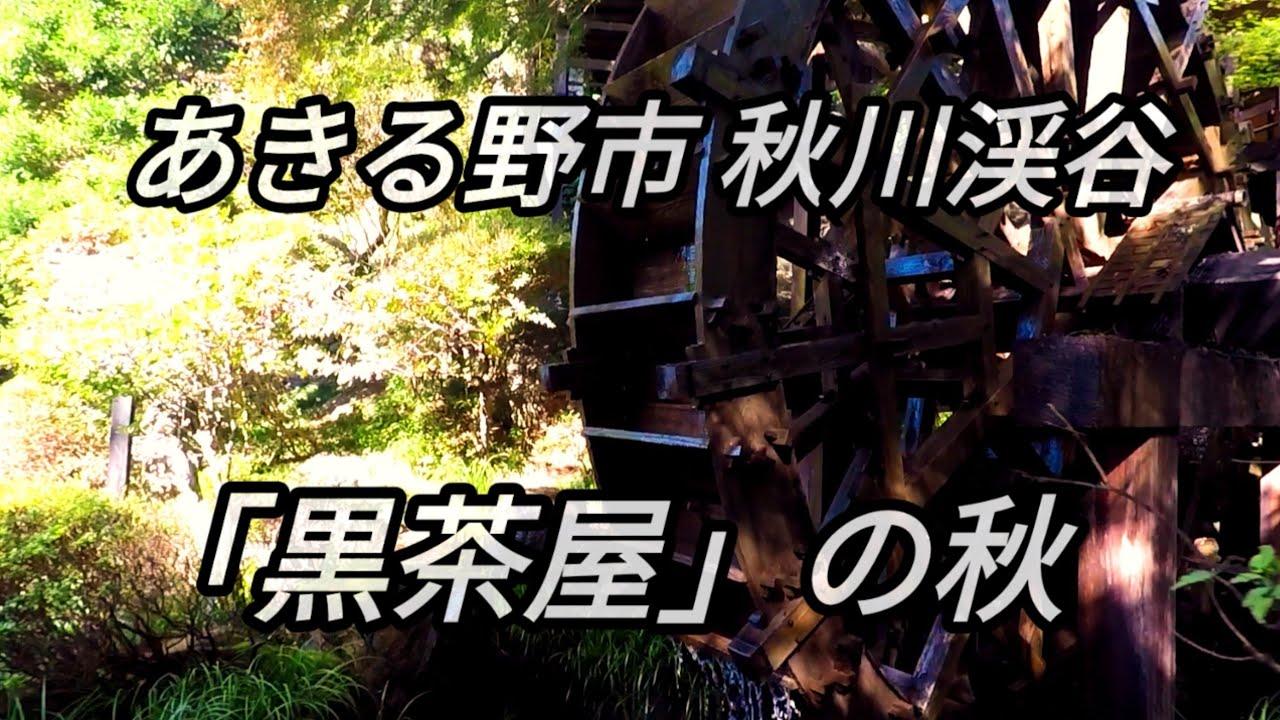 茶屋 秋川 渓谷 黒