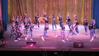 """Фестиваль танца 2016 г. Лиски., танец:""""Хорошее настроение""""."""