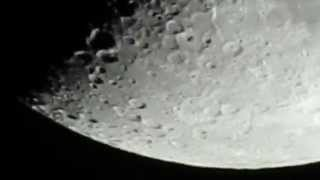 New Nikon coolpix P900 83x optical zoom world record - video test on moon
