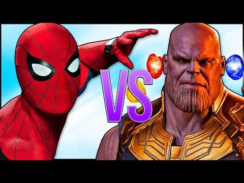 ЧЕЛОВЕК ПАУК VS ТАНОС | СУПЕР РЭП БИТВА | Spiderman ПРОТИВ Thanos Avengers