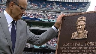 Yanks honor Torre, retire his No. 6