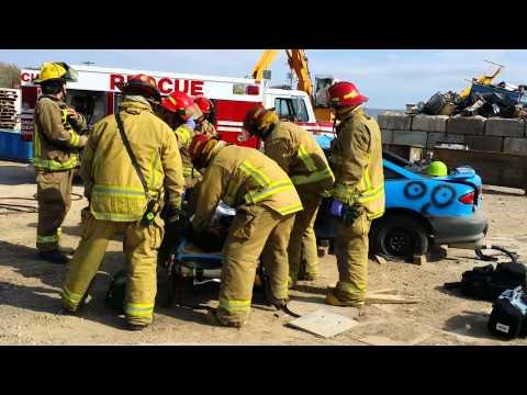 Emporia Fire Department training