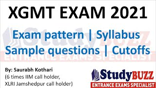XGMT exam 2021: Exam Pattern, Syllabus, Sample questions, Cutoffs, Top courses, Preparation strategy