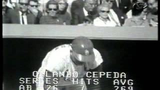 Game 7 1968 World Series - Full 9th Inning - Detroit Tigers v St Louis Cardinals