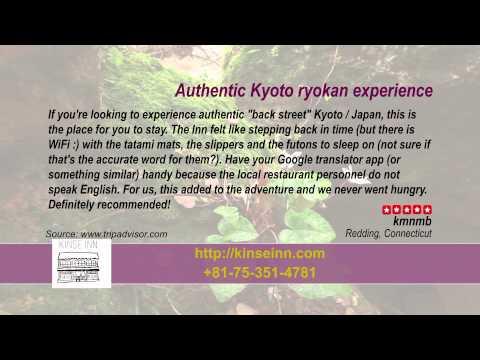 Kinse Inn - REVIEWS - Kyoto Ryokan & Onsen Kyoto Reviews