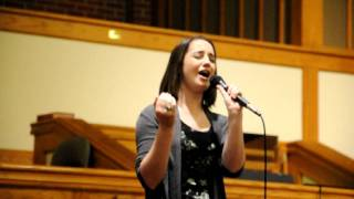 """""""If I Can Dream"""" (Cover) - Adrienne Wagster"""