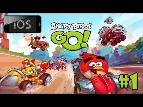 видео: [ios] angry birds go! прохождение [#1] - Время птицегонок!