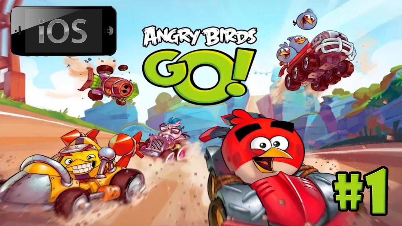 [iOS] Angry Birds Go! u043fu0440u043eu0445u043eu0436u0434u0435u043du0438u0435 [#1] - u0412u0440u0435u043cu044f u043fu0442u0438u0446u0435u0433u043eu043du043eu043a!