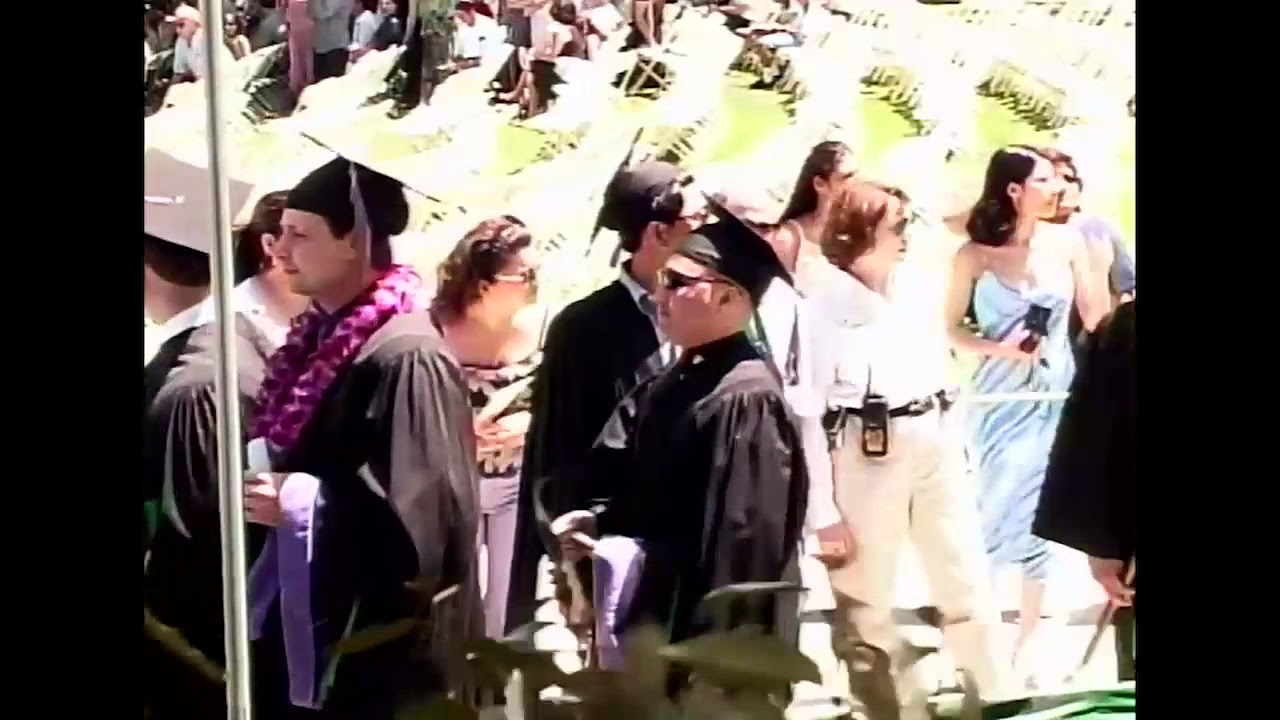 Cal Poly Pomona Commencement 2001 College Of Environmental Design Youtube