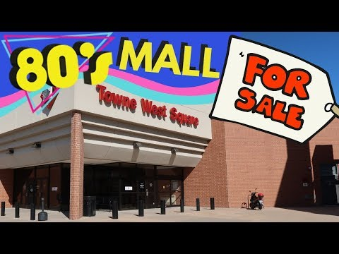 1980's MALL FOR SALE | Towne West Square In Wichita, Kansas Is For Sale! | But Is It A Dead Mall?