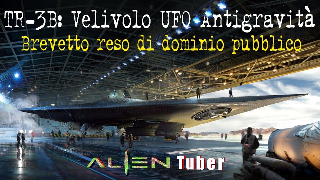 TR-3B: Velivolo UFO Antigravità - Brevetto reso di dominio pubblico !