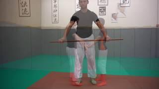 Aiki Taiso Jo, Body Workout with stick, mobility & dexterity - Xavier Dufau