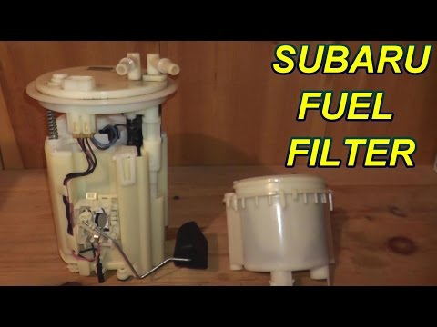 how to replace an in tank fuel filter on a subaru youtube 2013 subaru impreza fuel filter replacement 2013 subaru impreza fuel filter location #4