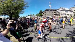 Naked Bike Ride Fremont Solstice 2014