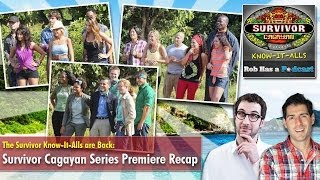 Survivor Cagayan Season Premiere Recap: Survivor Know-It-Alls