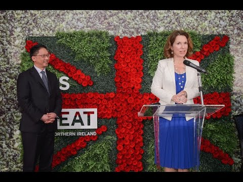 Queen's Birthday Party in Hong Kong 2015 feat. speech by Caroline Wilson