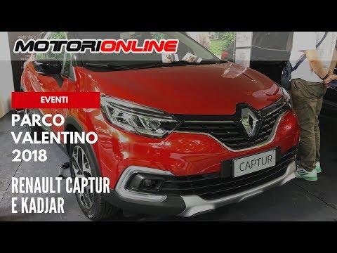 Parco Valentino 2018 | Renault Captur e Kadjar