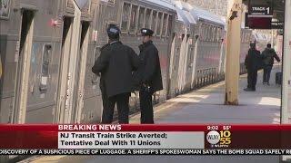 NJ Transit Strike Averted
