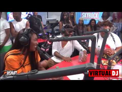 Fally Ipupa, Dadju, Keblack, Naza and Christopher Ghenda on Skyrock...Must watch!!!