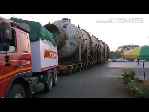 BigCargo India Pvt Ltd -  Heavy lift pressure vessel Transportation in Mumbai