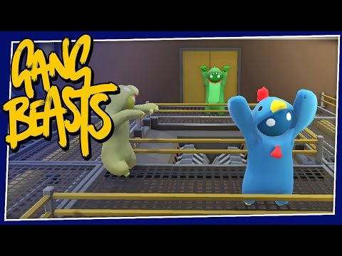 Gang Beasts - #141 - DANCE PARTY!