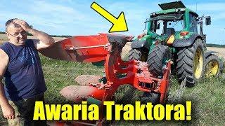 Awaria Traktora! ☆Orka Pod Rzepak 2019 ☆Ile Hektarów Siejemy.