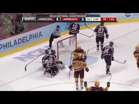 Gopher Goals: 2014 NCAA Hockey Championship
