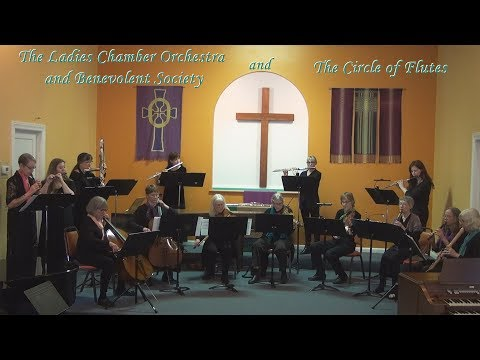 Spring Concert by The Ladies Chamber Orchestra and Benevolent Society with The Circle of Flutes