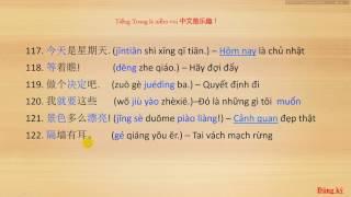 Những câu nói thường dùng trong giao tiếp (Phần 3) - TIẾNG TRUNG LÀ NIỀM VUI