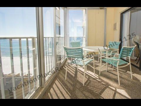 Gulf & Beach Views from the 11th floor - Regency Towers, Panama City Beach, Florida