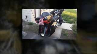 Harley Davidson Custom Parts Bagger Bags Inc