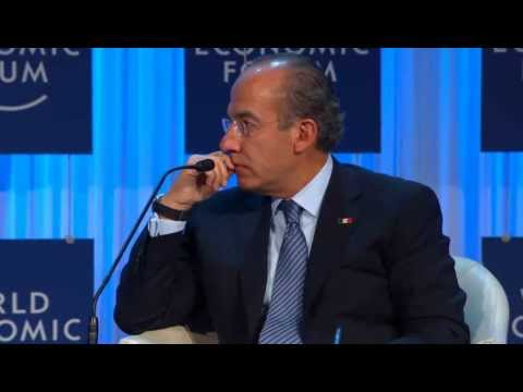 Davos 2012 - Felipe Calderon - Global Economic Crisis - Role and Challenges of the G20