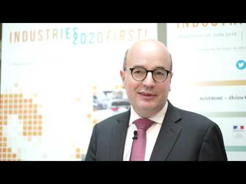 Industries2020 First ! : Interview de Christophe de Maistre - Siemens France