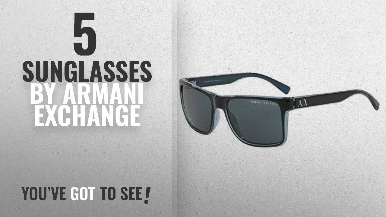 32fe92f3e7 Top 10 Armani Exchange Sunglasses [2018]: Armani Exchange AX 4016 ...