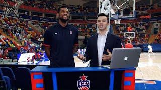 #CSKAbasketShow: Кори Хиггинс, DJ Лосев и Андрей Мальцев