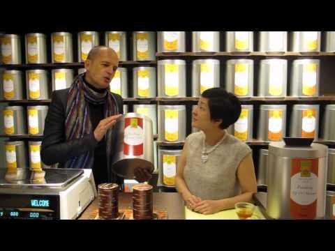 Le Palais des Thés: Tasting Bao Zhong Oolong with François-Xavier Delmas