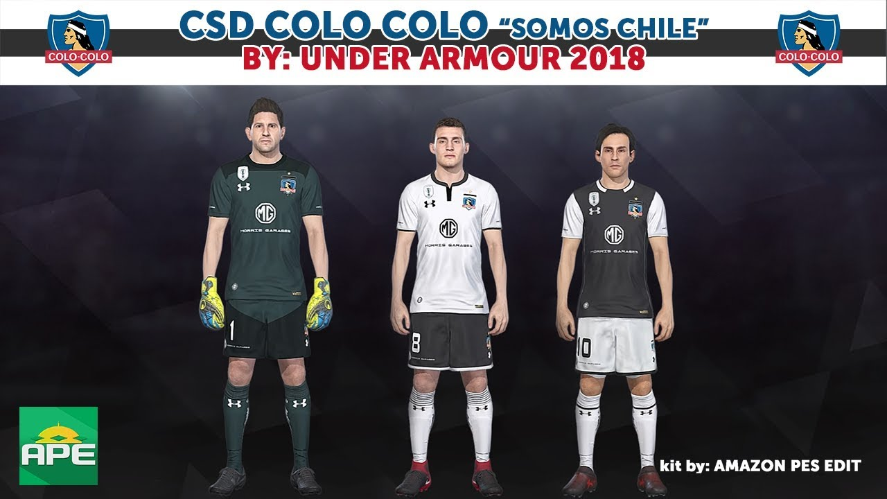 23911cb61 Kitpack CSD Colo Colo 2018 PS4 - YouTube