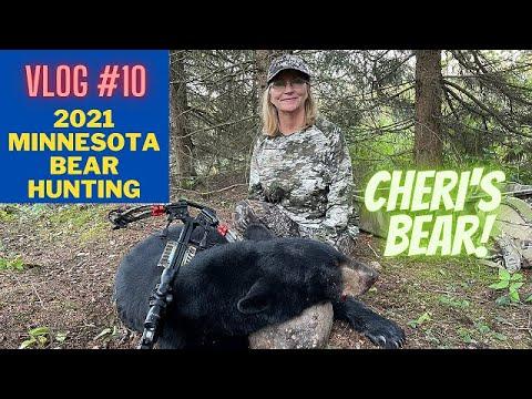 Minnesota bear hunting VLOG #10 | Cheri's bear hunt