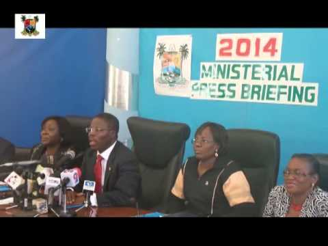 MINISTRY OF FINANCE 2014 MINISTERIAL PRESS BRIEFING