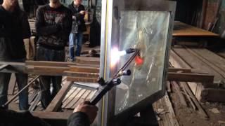 видео Алюминиевые не огнестойкие окна
