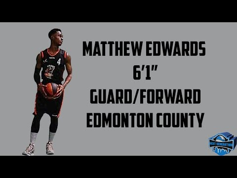 Matthew Edwards Official  Edmonton County School 2016-17 Highlights Mixtape #Underrated