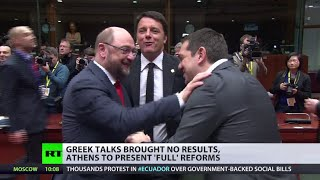 More Athens debt talks: Chance for Greek PM