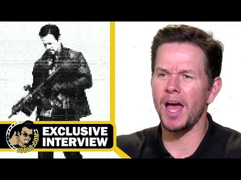 MILE 22 Exclusive Mark Wahlberg Interview (2018) JoBlo